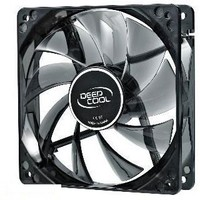 Вентилятор для корпуса DeepCool WIND BLADE 80 80X80X25mm Hydro 1800RPM Blue LED. Интернет-магазин Vseinet.ru Пенза