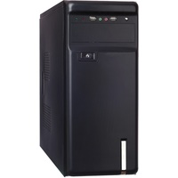 Корпус Exegate Miditower AA-323 Black, БП AA450, 80mm, ATX, 3*SATA, USB, Audio. Интернет-магазин Vseinet.ru Пенза
