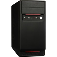 Корпус Exegate Miditower AA-324 Black, БП AA450, 80mm, ATX, 3*SATA, USB, Audio. Интернет-магазин Vseinet.ru Пенза