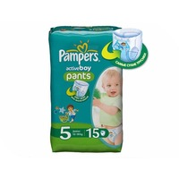 Pampers Active Boy Junior 12-18кг 15шт 4015400727026. Интернет-магазин Vseinet.ru Пенза