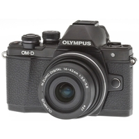Olympus OM-D E-M10 Mark II Kit 14-42 mm F/3.5-5.6 II R Black-Black. Интернет-магазин Vseinet.ru Пенза