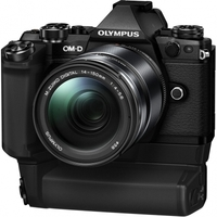 OM-D E-M5 Mark II Kit (E-M5 Mark II Body black + EZ-M1415 II black ). Интернет-магазин Vseinet.ru Пенза