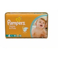 Pampers Sleep & Play Maxi 7-14кг 50шт 4015400224242. Интернет-магазин Vseinet.ru Пенза