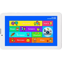 "Планшет Turbo TurboKids 3G, INTEL Atom x3 C3230-RK Processor 1200 МГц 4C, 1024 Мб, 8Гб, 7"", TFT IPS, 1024x600 , 3G, 2 Мп, GPS, Android 5.1 , белый. Интернет-магазин Vseinet.ru Пенза"