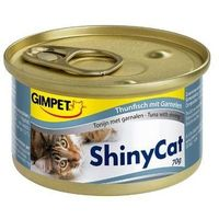 Консервы Gimpet Shiny Cat с тунцом и креветками, 70 г. Интернет-магазин Vseinet.ru Пенза