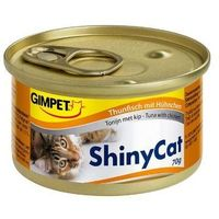 Консервы Gimpet Shiny Cat с тунцом и цыплёнком, 70 г. Интернет-магазин Vseinet.ru Пенза