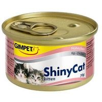 Консервы Gimpet Shiny Cat Kitten с цыпленком, 70 г. Интернет-магазин Vseinet.ru Пенза