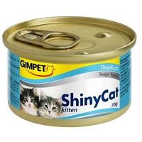 Консервы Gimpet Shiny Cat Kitten с тунцом, 70 г. Интернет-магазин Vseinet.ru Пенза