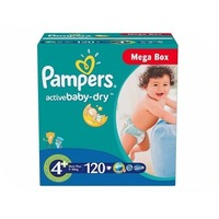 Pampers Active Baby-Dry Maxi Plus 9-16кг 120шт 4015400264972. Интернет-магазин Vseinet.ru Пенза