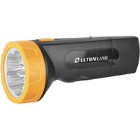 Фонарь UltraFlash LED3827 Black-Yellow 11241. Интернет-магазин Vseinet.ru Пенза