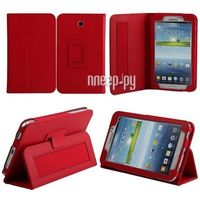 Чехол Samsung Galaxy Tab 4 7.0 IT Baggage иск.кожа Red ITSSGT7402-3. Интернет-магазин Vseinet.ru Пенза