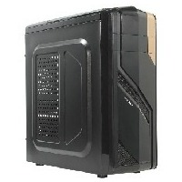 EXEGATE EVO-7213 (черные шасси и БП 450NPX, 120MM,ATX, 3*SATA,USB, AUDIO) BLACK. Интернет-магазин Vseinet.ru Пенза