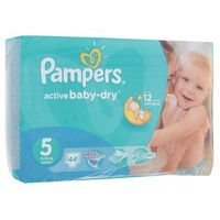 Подгузники Pampers Active Baby-dry, Junior 5 (11-18 кг), 44 шт.. Интернет-магазин Vseinet.ru Пенза