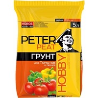 "Грунт ""Для томатов и перцев"", ХОББИ 5л. Интернет-магазин Vseinet.ru Пенза"