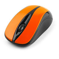 Мышь Gembird MUSW-325 беспроводная, USB, оранжевая. Интернет-магазин Vseinet.ru Пенза