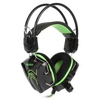 Гарнитура SmartBuy RUSH Cobra SBHG-1200 черная с зеленым. Интернет-магазин Vseinet.ru Пенза