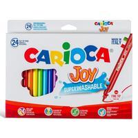 Фото Фломастеры Carioca JOY 40615 24цв. коробка с европодвесом. Интернет-магазин Vseinet.ru Пенза