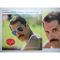 Виниловая пластинка Freddie Mercury Mr. Bad Guy OBI, 3 PHOTO, JP INS. Интернет-магазин Vseinet.ru Пенза