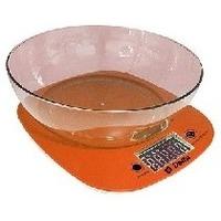 Весы кухонные Delta KCE-32, оранжевые. Интернет-магазин Vseinet.ru Пенза