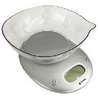 Весы кухонные Delta KCE-34, серебристые. Интернет-магазин Vseinet.ru Пенза