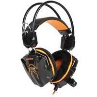 Гарнитура SmartBuy COBRA ( SBHG-1100) черная с оранжевым. Интернет-магазин Vseinet.ru Пенза
