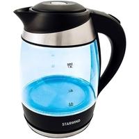 Чайник электрический Starwind SKG2219 1.8л. 2200Вт бирюзовый (корпус: стекло). Интернет-магазин Vseinet.ru Пенза
