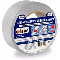 Клейкая лента алюминиевая 50мм х 50м UNIBOB ИУ арт.37284. Интернет-магазин Vseinet.ru Пенза