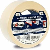 Клейкая лента малярная 25мм х 40м UNIBOB, белая ИУ арт.37960. Интернет-магазин Vseinet.ru Пенза