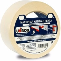 Клейкая лента малярная 30мм х 40м UNIBOB, белая ИУ арт.37961. Интернет-магазин Vseinet.ru Пенза