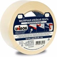 Фото Клейкая лента малярная 38мм х 40м UNIBOB, белая ИУ арт.37962. Интернет-магазин Vseinet.ru Пенза