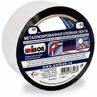 Клейкая лента металлизированная 48мм х 25м UNIBOB ИУ арт.39119. Интернет-магазин Vseinet.ru Пенза