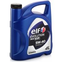 Моторное масло ELF EVOLUTION 900 SXR 5W-40 синтетическое, 4л, 194878. Интернет-магазин Vseinet.ru Пенза