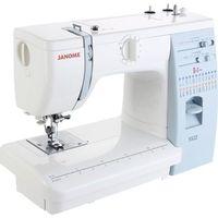 Швейная машина Janome 5522, 23 операции, 4 вида строчек, швейный советник, белый. Интернет-магазин Vseinet.ru Пенза