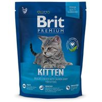Сухой корм Brit Premium Сat Kitten для котят, курица, 300 г. Интернет-магазин Vseinet.ru Пенза