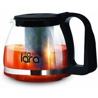 LR06-07 Заварочный чайник LARA 700мл, стальной фильтр, отделка хром. Интернет-магазин Vseinet.ru Пенза