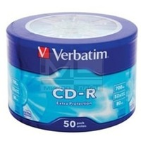 Verbatim CD-R 700MB, 52x extra protect wagon wheel (50шт) 43728. Интернет-магазин Vseinet.ru Пенза