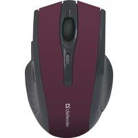 Мышь Defender Accura MM-665 беспроводная, USB, красная. Интернет-магазин Vseinet.ru Пенза