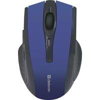 Мышь Defender Accura MM-665 беспроводная, USB, синяя. Интернет-магазин Vseinet.ru Пенза
