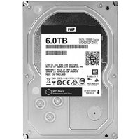 Жесткий диск HDD  Western Digital Black WD6002FZWX, 6000Гб, SATA 6Gb/s, 7200 об/мин, 128 Мб. Интернет-магазин Vseinet.ru Пенза