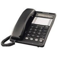 Телефон Panasonic KX-TS 2365 RUB чёрный. Интернет-магазин Vseinet.ru Пенза