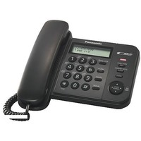 Телефон Panasonic KX-TS 2356 RUB чёрный. Интернет-магазин Vseinet.ru Пенза