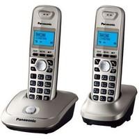 Радиотелефон Panasonic KX-TG2512RUS / 2 трубки / серебристый. Интернет-магазин Vseinet.ru Пенза