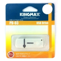 Флешка KINGMAX Pen Drive PD-03 64Гб,  USB 2.0, белая (KM64GPD03W). Интернет-магазин Vseinet.ru Пенза