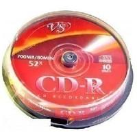 Диски VS CD-R 80 52x,CAKE (10). Интернет-магазин Vseinet.ru Пенза