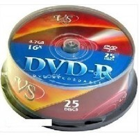 VS DVD-R 4,7GB 16X, CAKE (25). Интернет-магазин Vseinet.ru Пенза