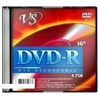 VS DVD-R 4,7 GB 16x,,SLIM (5). Интернет-магазин Vseinet.ru Пенза