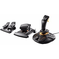 Набор Thrustmaster T-16000M FSC Flight Pack PC (Джойстик/Руд/Педали) War Thunder. Интернет-магазин Vseinet.ru Пенза