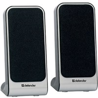 Активная акустика Defender SPK-225 USB / 2.0 / 200 - 18000 Гц / серебристый. Интернет-магазин Vseinet.ru Пенза