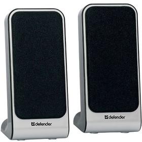 Активная акустика Defender SPK-225 USB / 2.0 / 200 - 18000 Гц / серебристый
