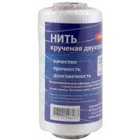 Нить крученая, двухпрядная полипропиленовая, d= 1,3мм, l=100м.на втулке арт.082287. Интернет-магазин Vseinet.ru Пенза